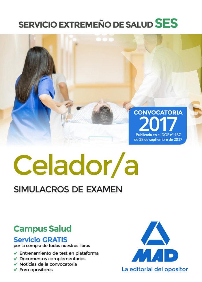 Celador/a ses 2017 simulacros de examen