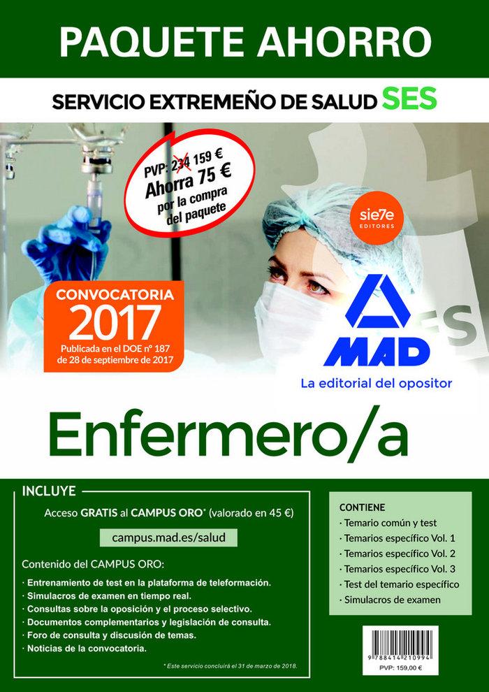 Enfermero/a ses 2017 pack ahorro