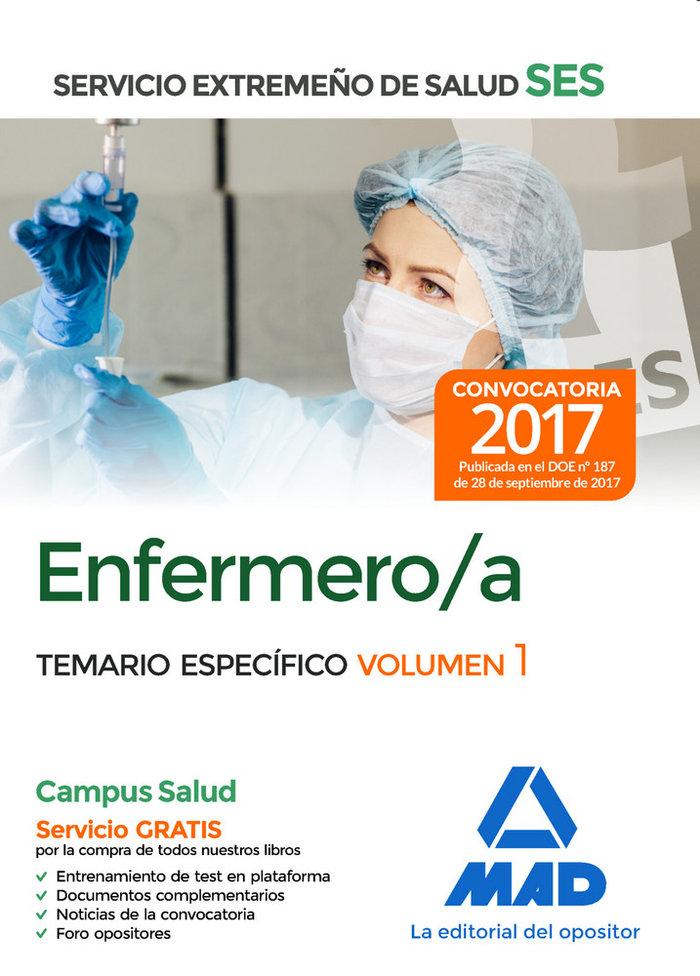 Enfermero/a ses 2017 temario especifico volumen i