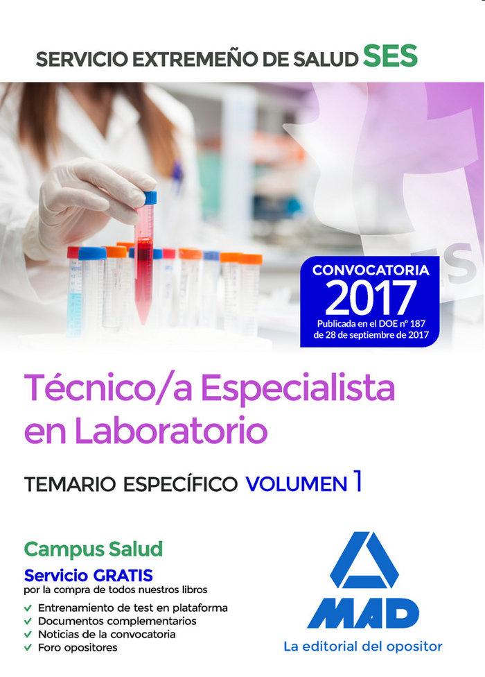 Tecnico/a especialista laboratorio ses 2017 especifico 1