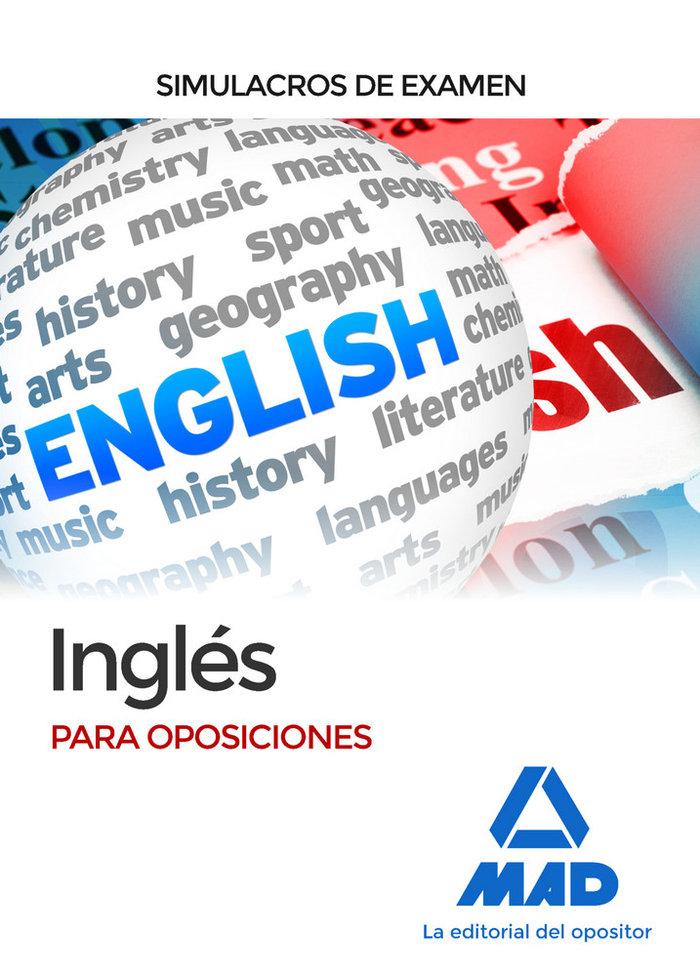 Ingles para oposiciones. simulacros de examen