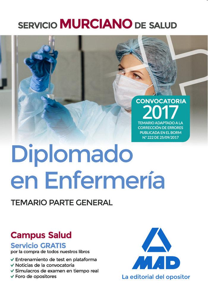 Diplomado en enfermeria servicio murcia.salud t.parte gen17