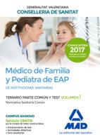 Medico de familia y pediatra de eap de instituciones sanitar