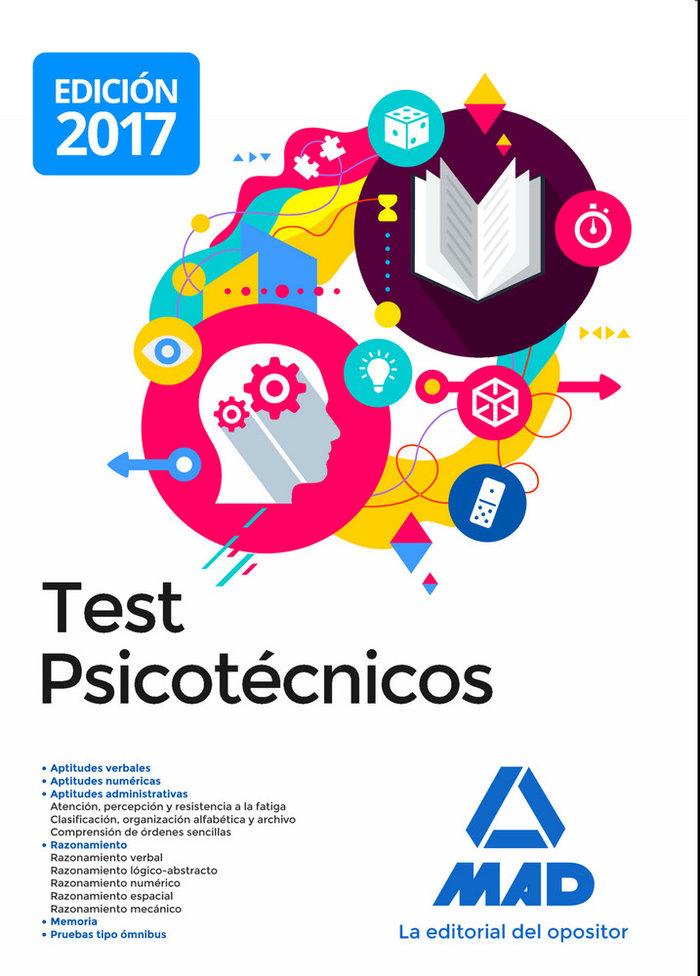 Test psicotecnicos 2017