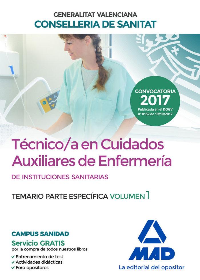 Tecnico en cuidados auxiliares de enfermeria de la conseller