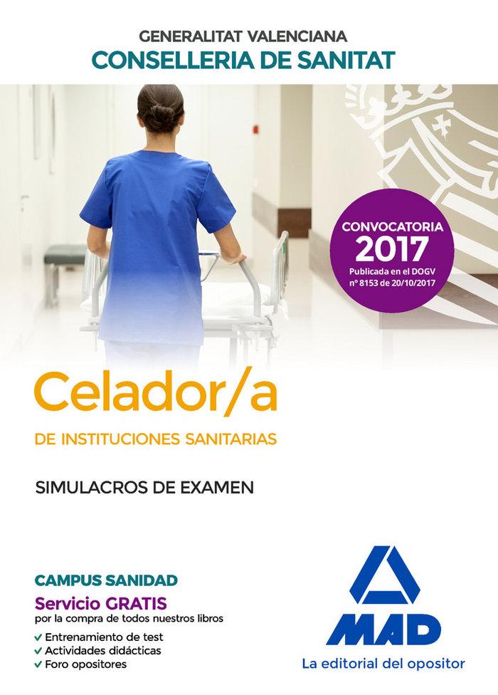 Celador/a de instituciones sanitarias simulacros de examen
