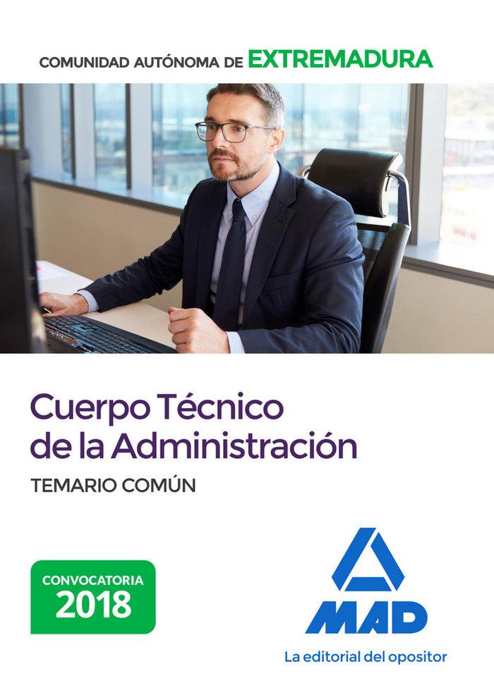 Cuerpo tecnico de la administracion de la comunidad autonoma