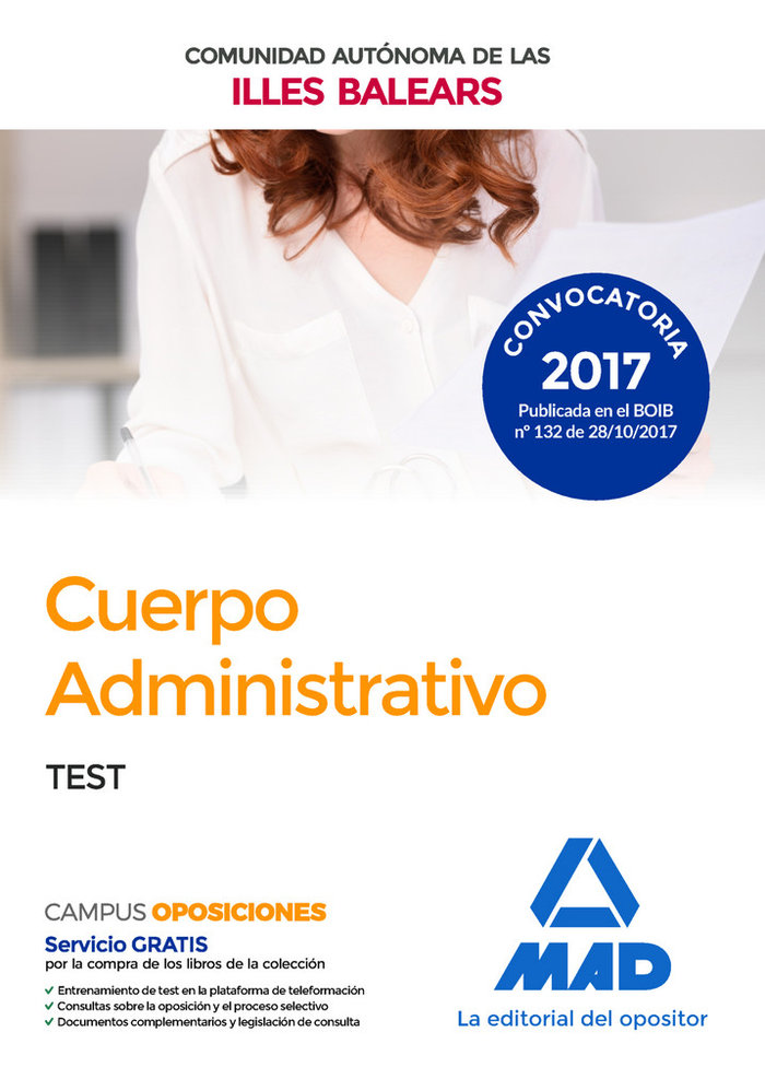 Tests cuepo administrativo de la caib