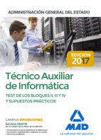 Tecnico auxiliar informatica administracion general test