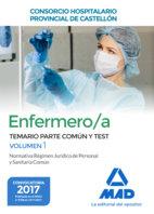 Enfermero/a consorcio hospitalario temario y test vol 1