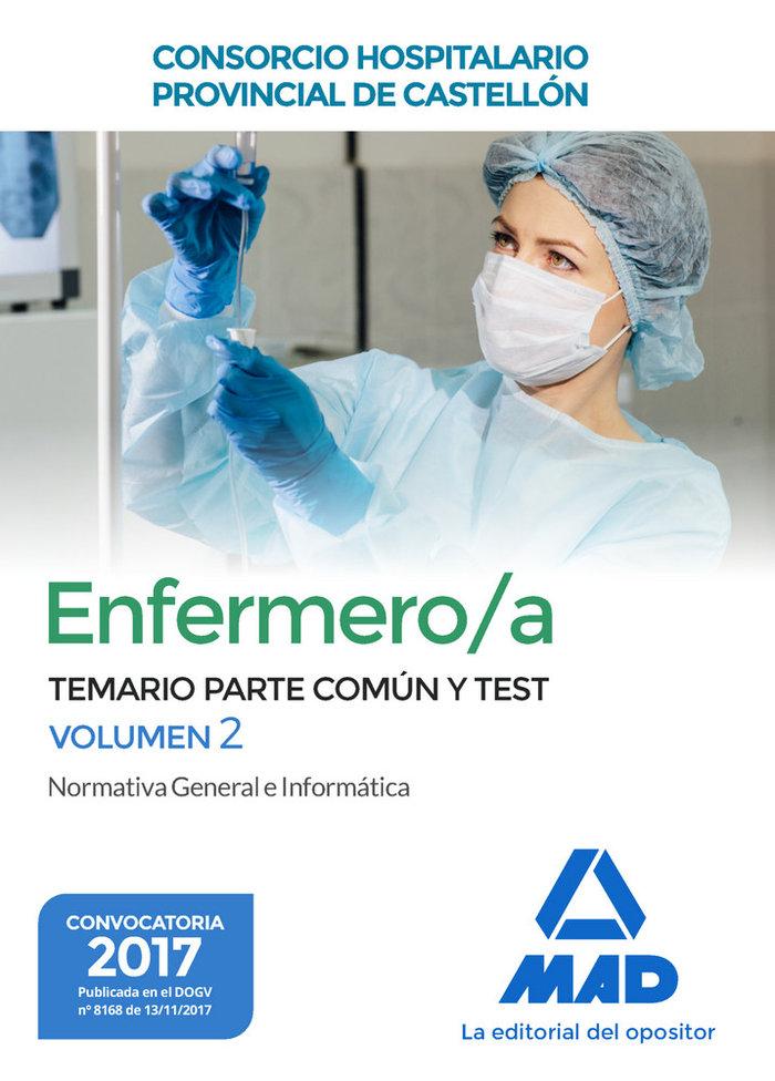 Enfermero/a consorcio hospitalario temario y test vol 2