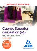 Temario parte general vol2 cuerpo superior de gestion a2 gen