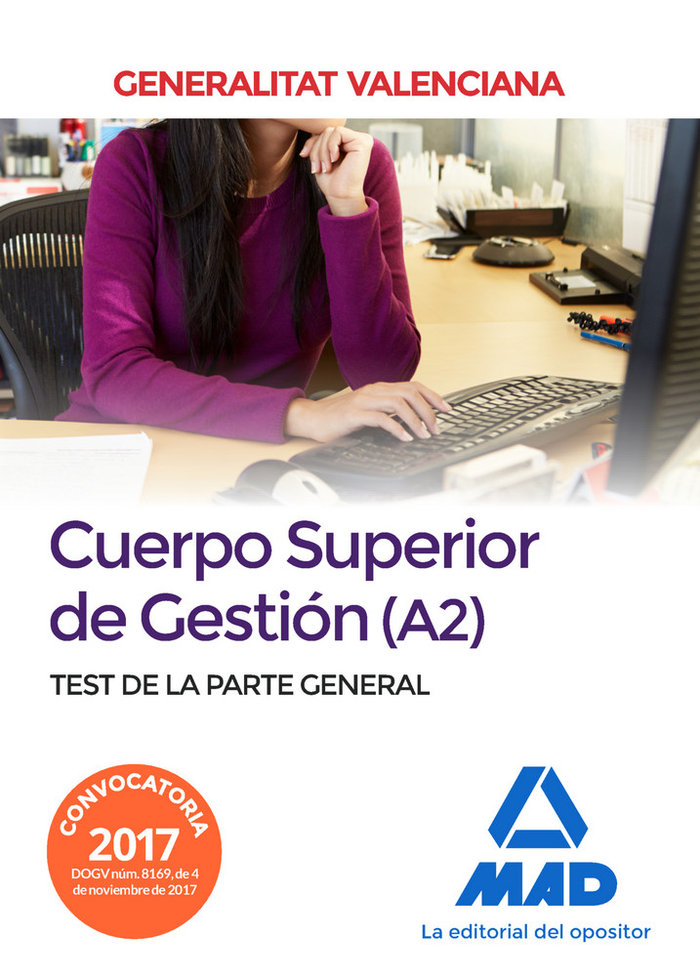 Cuerpo superior de gestion a2 test de la parte general