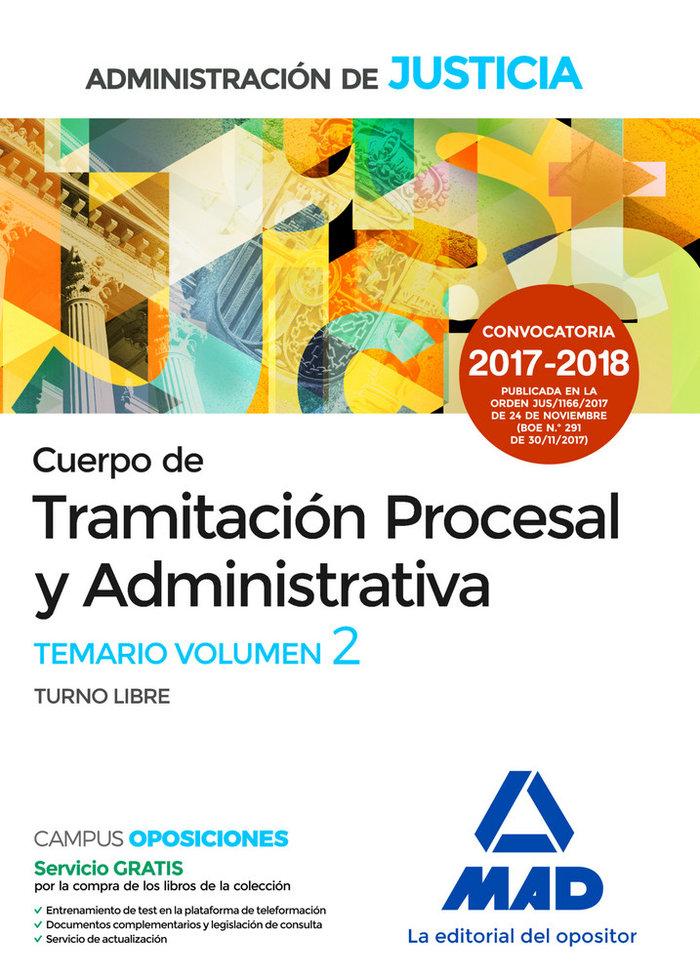 Tramitacion procesal y adm turno libre vol 2 2017