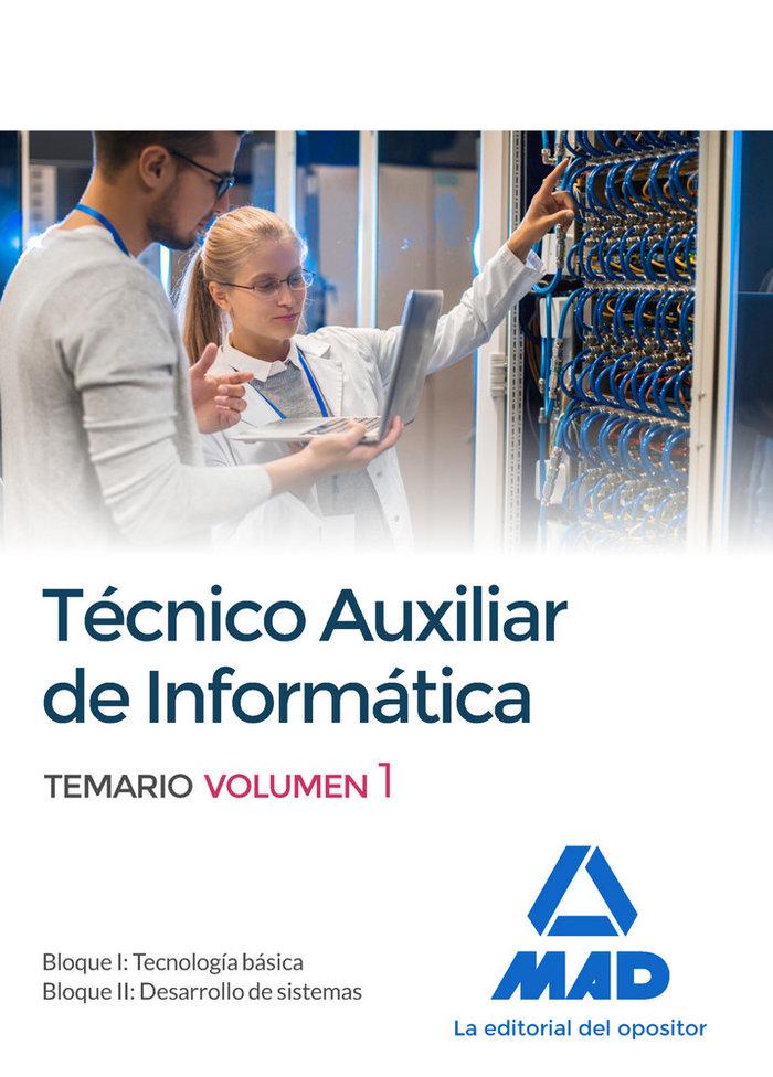 Tecnicos auxiliares de informatica volumen 1