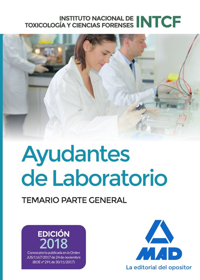 Ayudantes laboratorio instituto nacional toxicologia