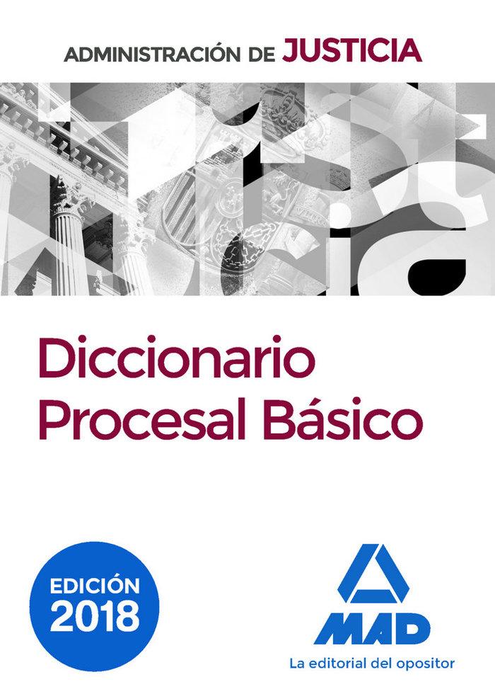 Diccionario procesal basico 2017