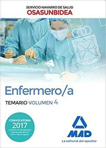 Enfermero/a servicio navarro salud osasunbidea vol 4