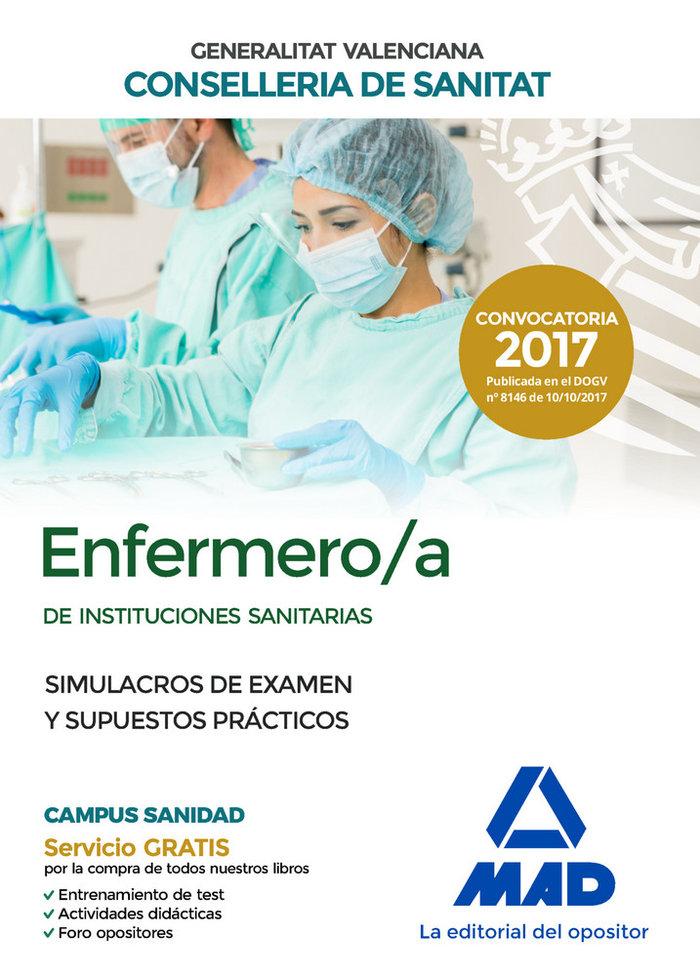 Enfermero/a de instituciones sanitarias de la conselleria de