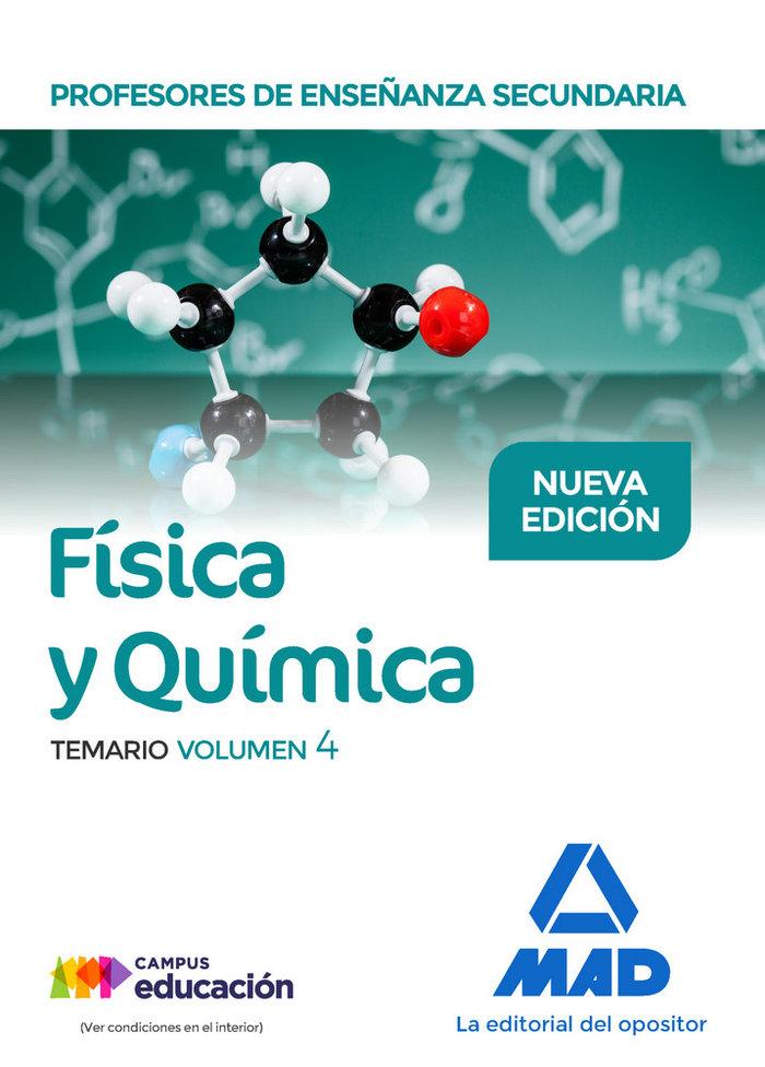 Pes fisica y quimica temario volumen 4