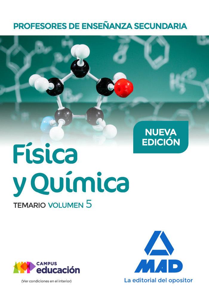 Pes fisica y quimica temario volumen 5
