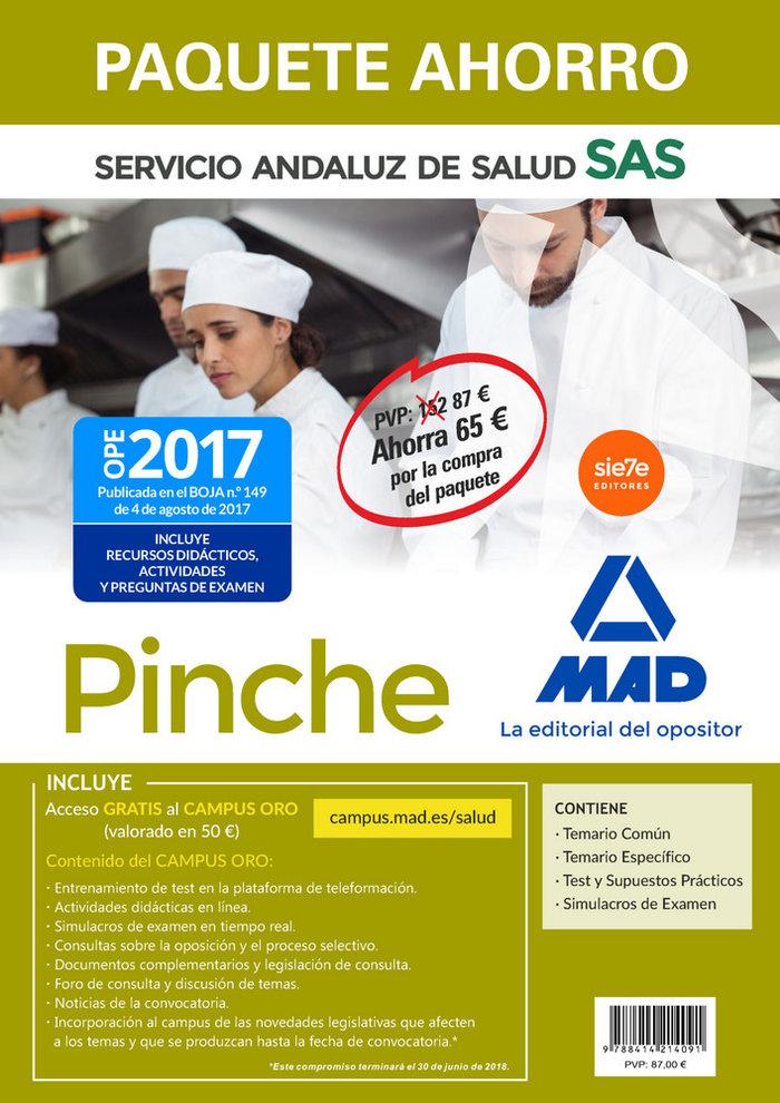 Paquete ahorro pinche servicio andaluz de salud