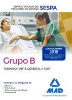 Grupo b del servicio de salud del principado de asturias