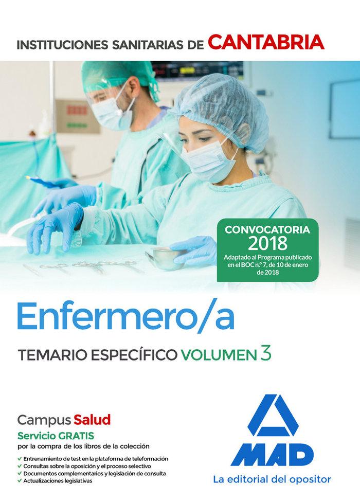 Enfermero/a de las instituciones sanitarias de cantabria. te