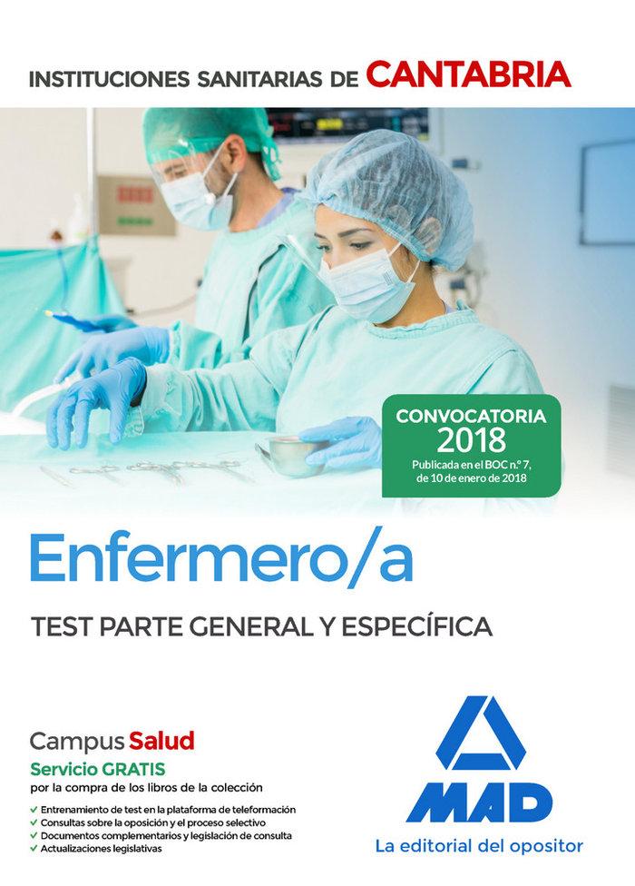 Enfermero/a test ii ss de cantabria