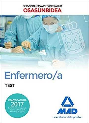 Enfermero/a servicio navarro salud osasunbidea test
