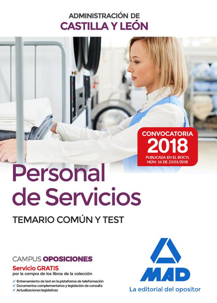 Personal servicios administracion c.leon t comun y test