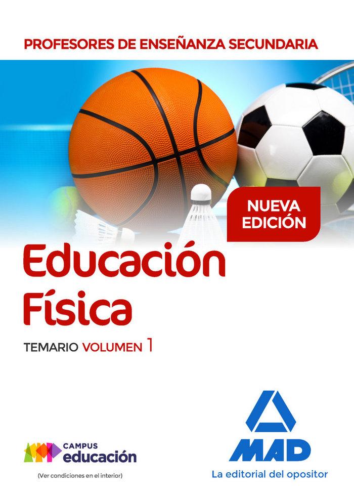 Pes educacion fisica temario volumen 1