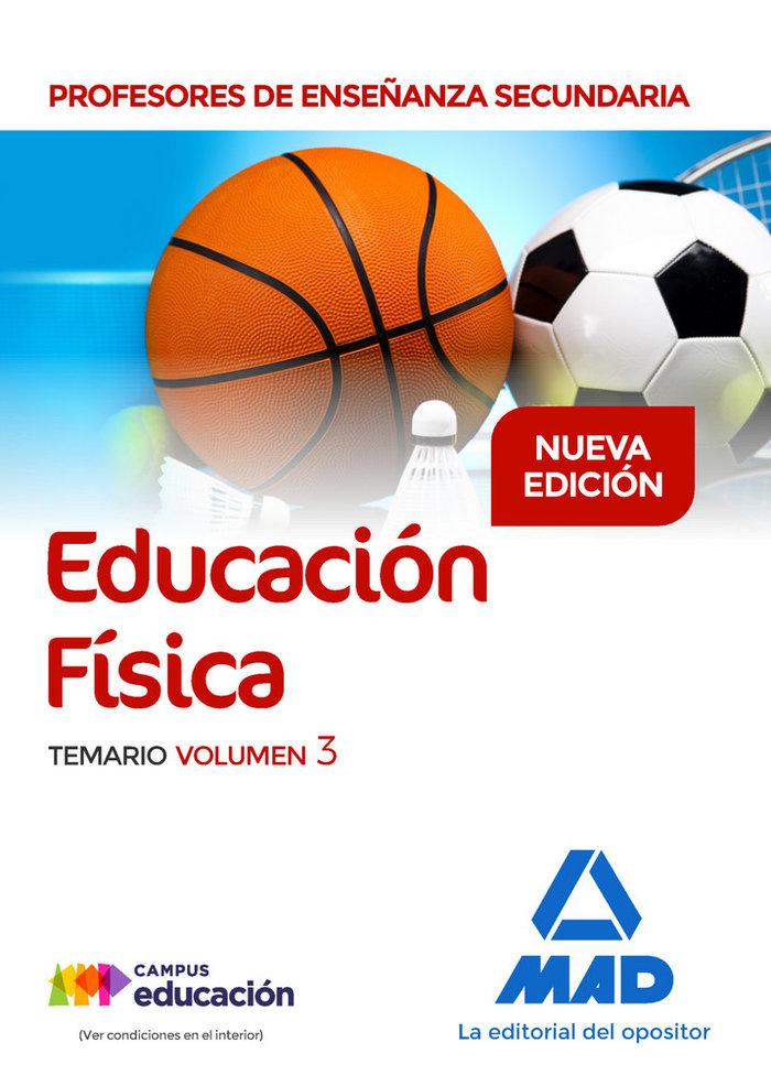 Educacion fisica temario volumen 3 2017