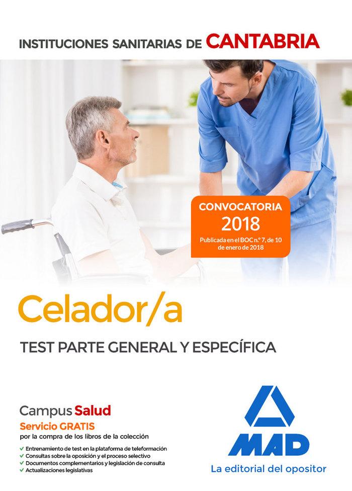 Celador test general especifico iiss de c