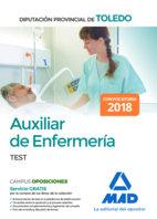 Auxiliar enfermeria diputacion provincial toledo test