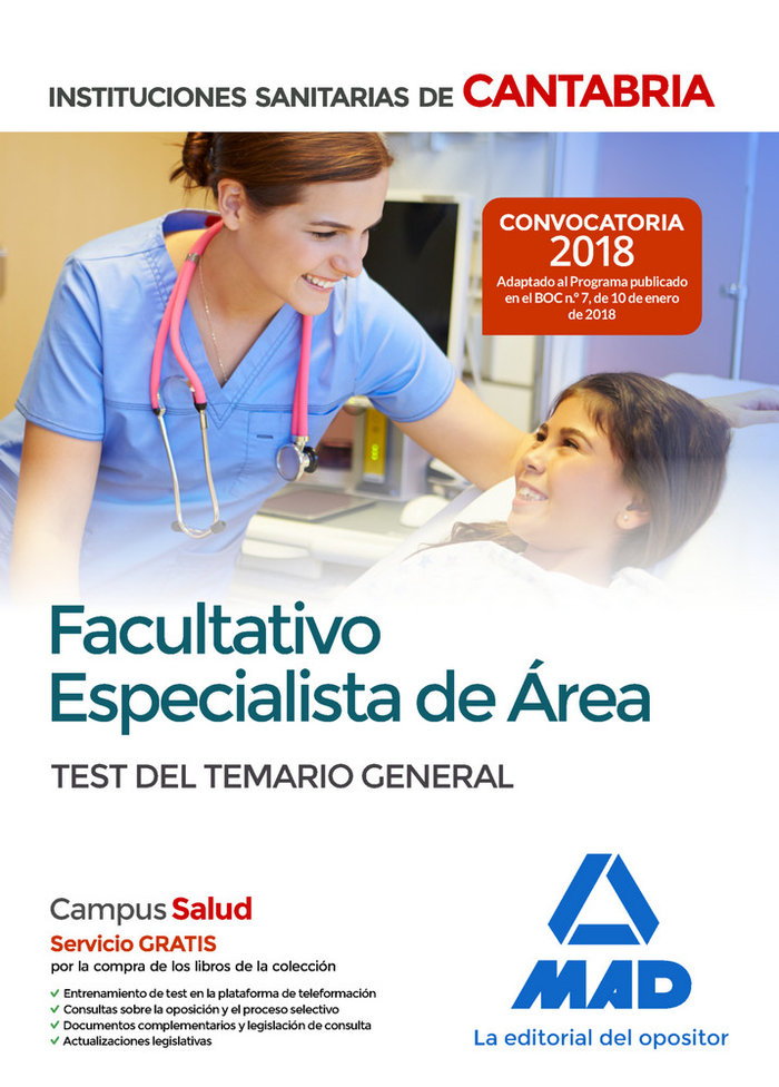 Facultativo e area test iiss cantab