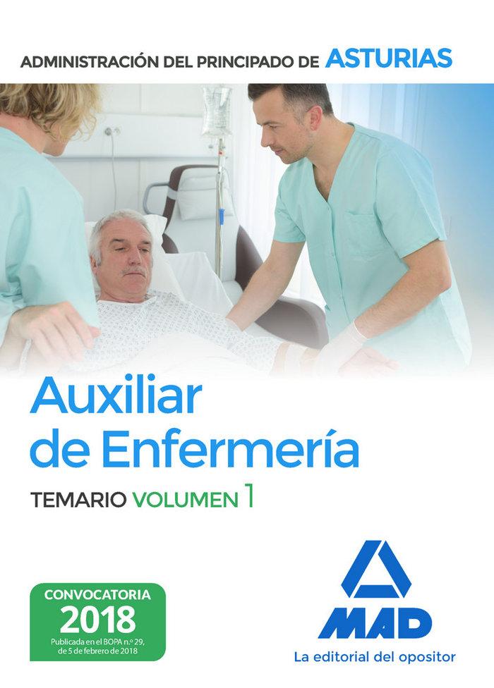 Auxiliar enfermeria vol 1 principado asturias