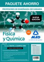Paquete ahorro fisica y quimica cuerpo profesores enseñanza