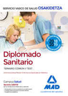Diplomado sanitario de osakidetza-servicio vasco de salud. t