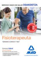 Fisioterapeuta de osakidetza-servicio vasco de salud. temari