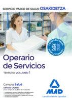 Operario/a volumen 1 osakidetza