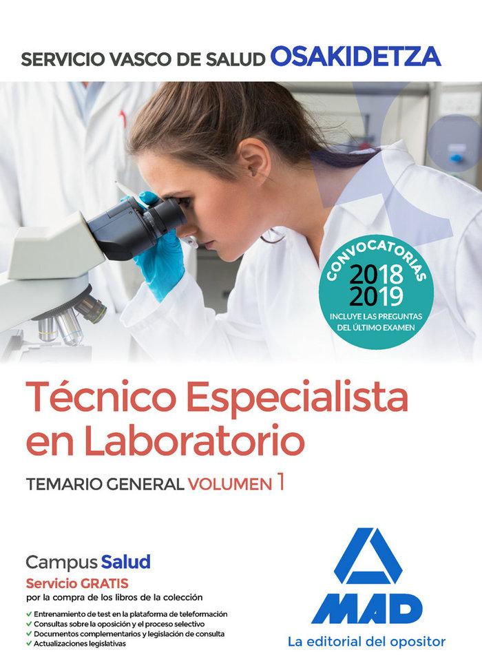 Te laboratorio vol 1 osakidetza