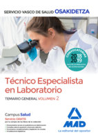 Tecnico especialista laboratorio servicio vasco vol 2