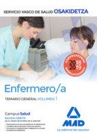 Enfermera osakidetza servicio vasco de salud temario vol 1