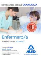 Enfermera osakidetza servicio vasco de salud temario vol 2