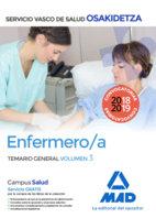 Enfermero/a temario general volumen 3