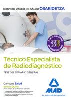 Tecnicos especialistas radiodiagnostico servicio vasco test