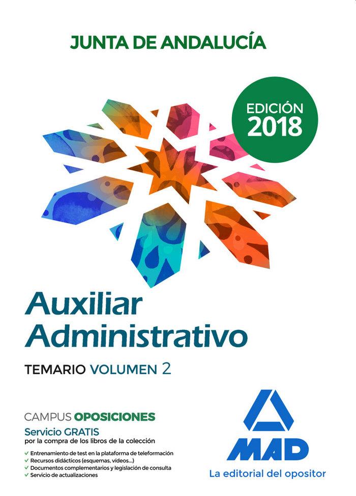 Auxiliar administrativo junta de andalucia vol 2