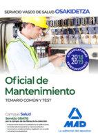 Oficial mantenimiento osakidetz temario comun y test