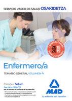 Enfermero/a temario general volumen 4 osakidetza
